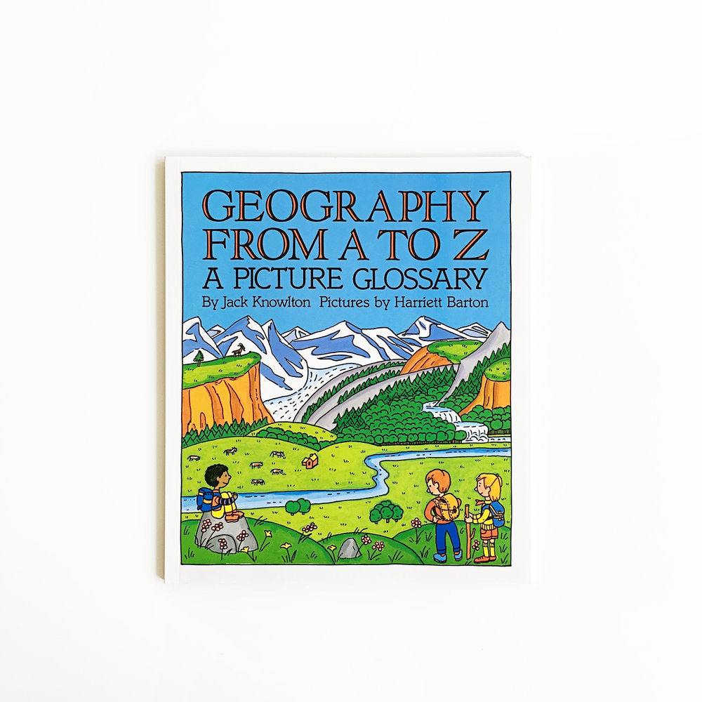Geography from A to Z A Picture Glossary | Little Lit Book Series
