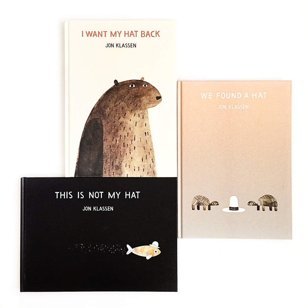 Jon Klassen's Hat Trilogy Giveaway | Little Lit Book Series
