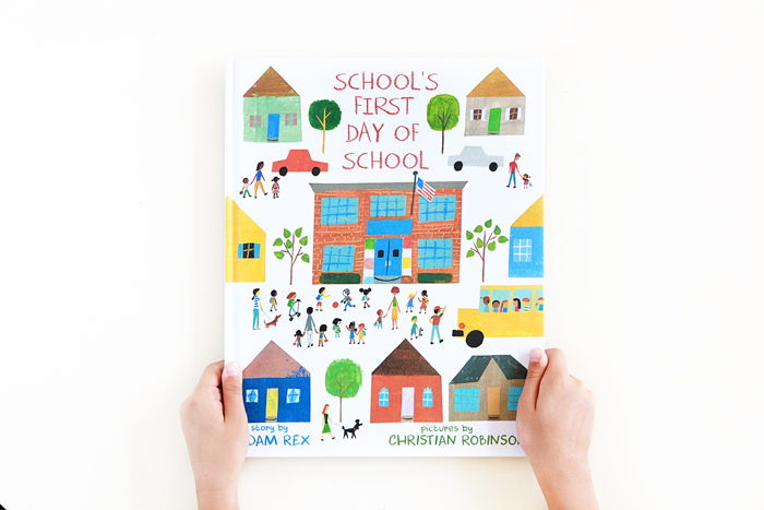 School's First Day of School + Giveaway | Little Lit Book Series