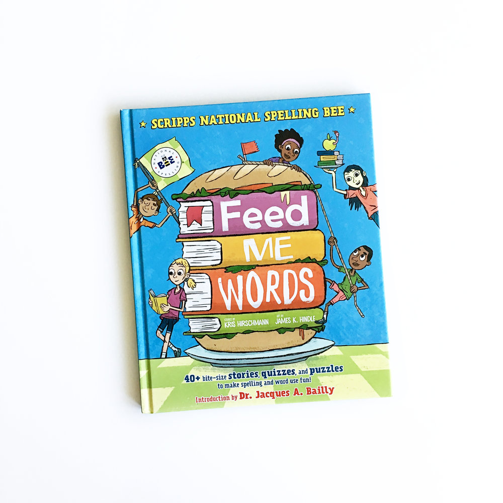 Feed Me Words | Little Lit Book Series