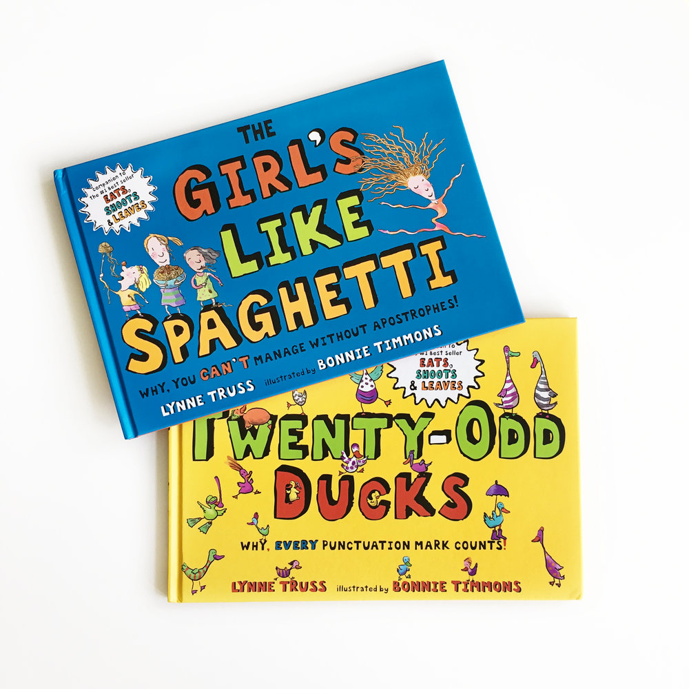 The Girl's Like Spaghetti and Twenty-Odd Ducks | Little Lit Book Series