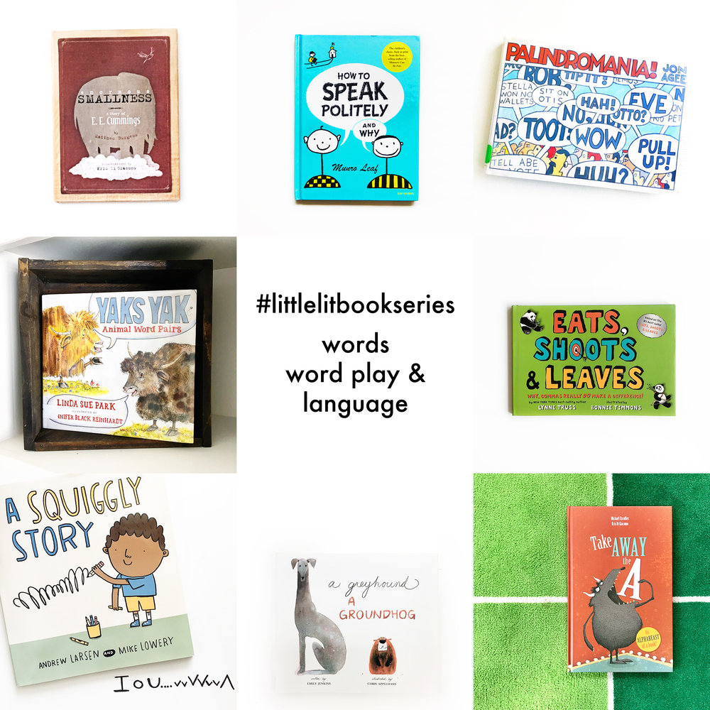Little Lit Book Series: Words, Word Play and Language Edition
