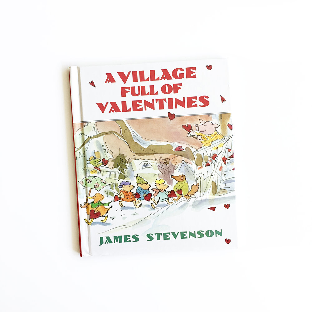 A Village Full of Valentines | Little Lit Book Series