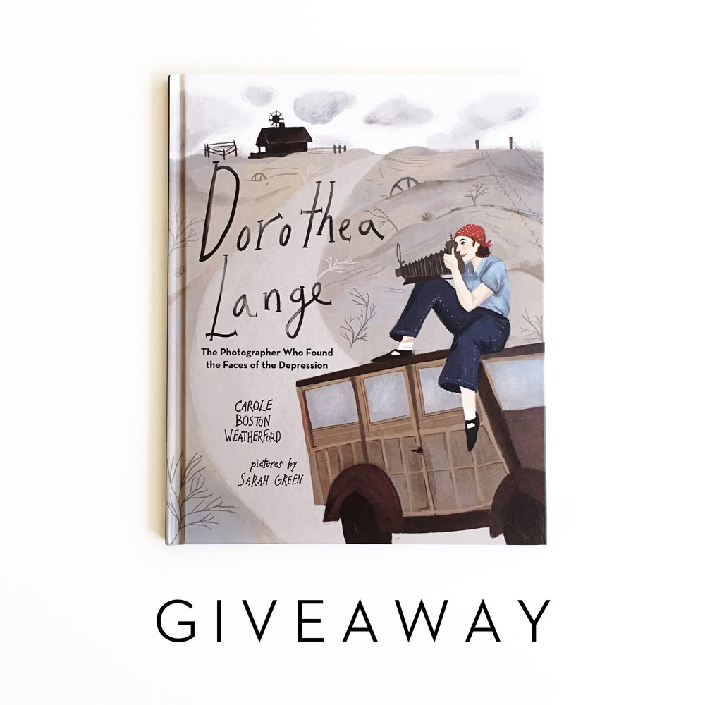 Dorothea Lange + Giveaway | Little Lit Book Series