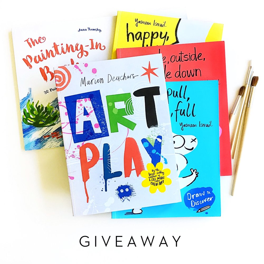 Children's Art Books by Women Artists + Giveaway | Little Lit Book Series