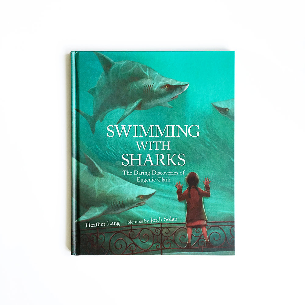 Swimming with Sharks: The Daring Discoveries of Eugenie Clark | Little Lit Book Series
