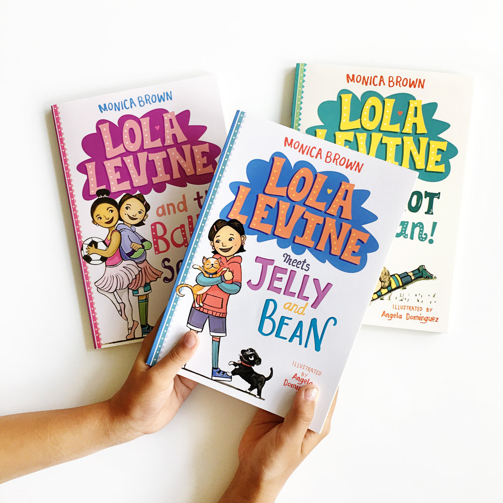 Lola Levine | Little Lit Book Series