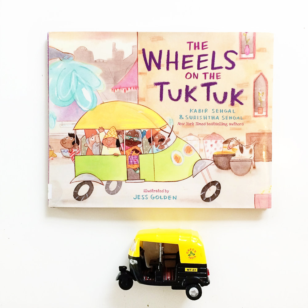 The Wheels on the Tuk Tuk | Little Lit Book Series