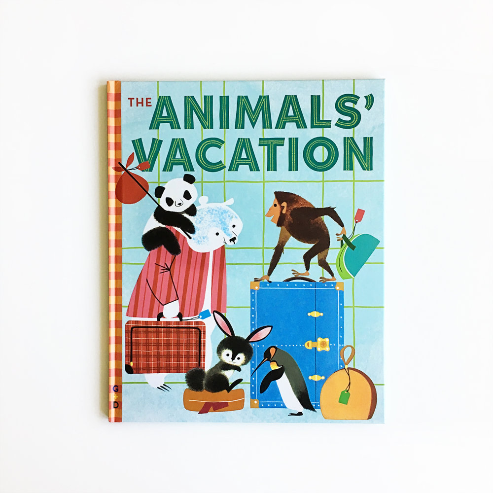 The Animals' Vacation | Little Lit Book Series