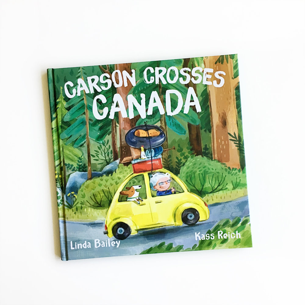Carson Crosses Canada | Little Lit Book Series