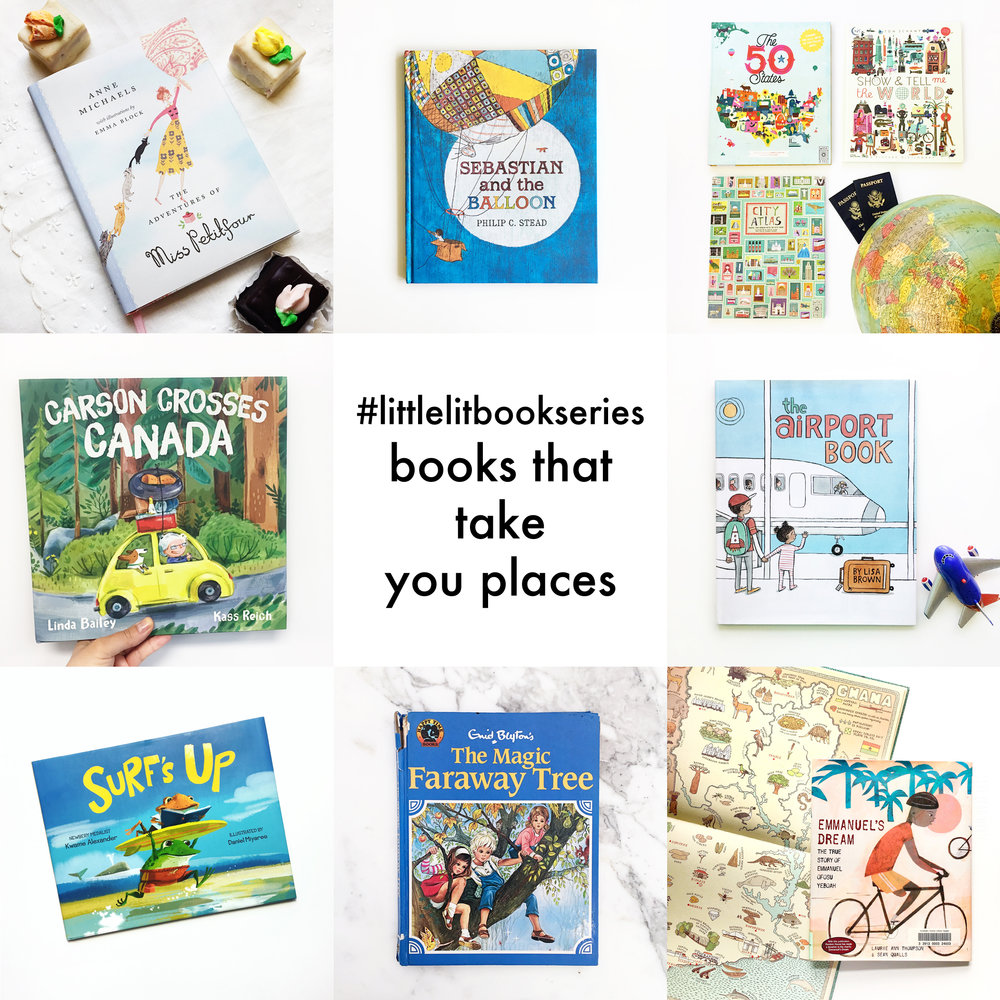 Little Lit Book Series: Books That Take You Places
