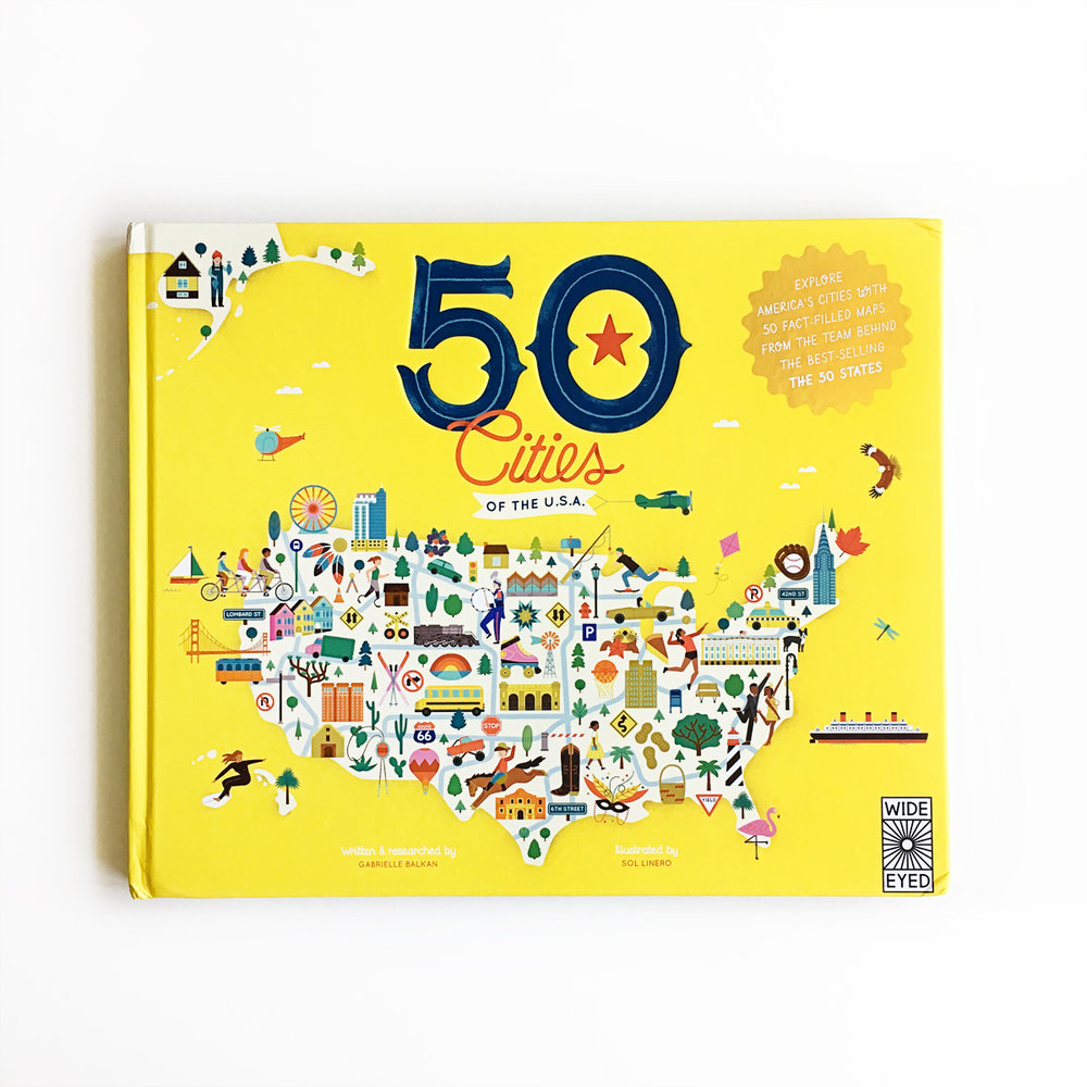 50 Cities of the USA | Little Lit Book Series