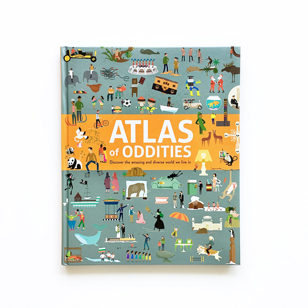 Atlas of Oddities | Little Lit Book Series