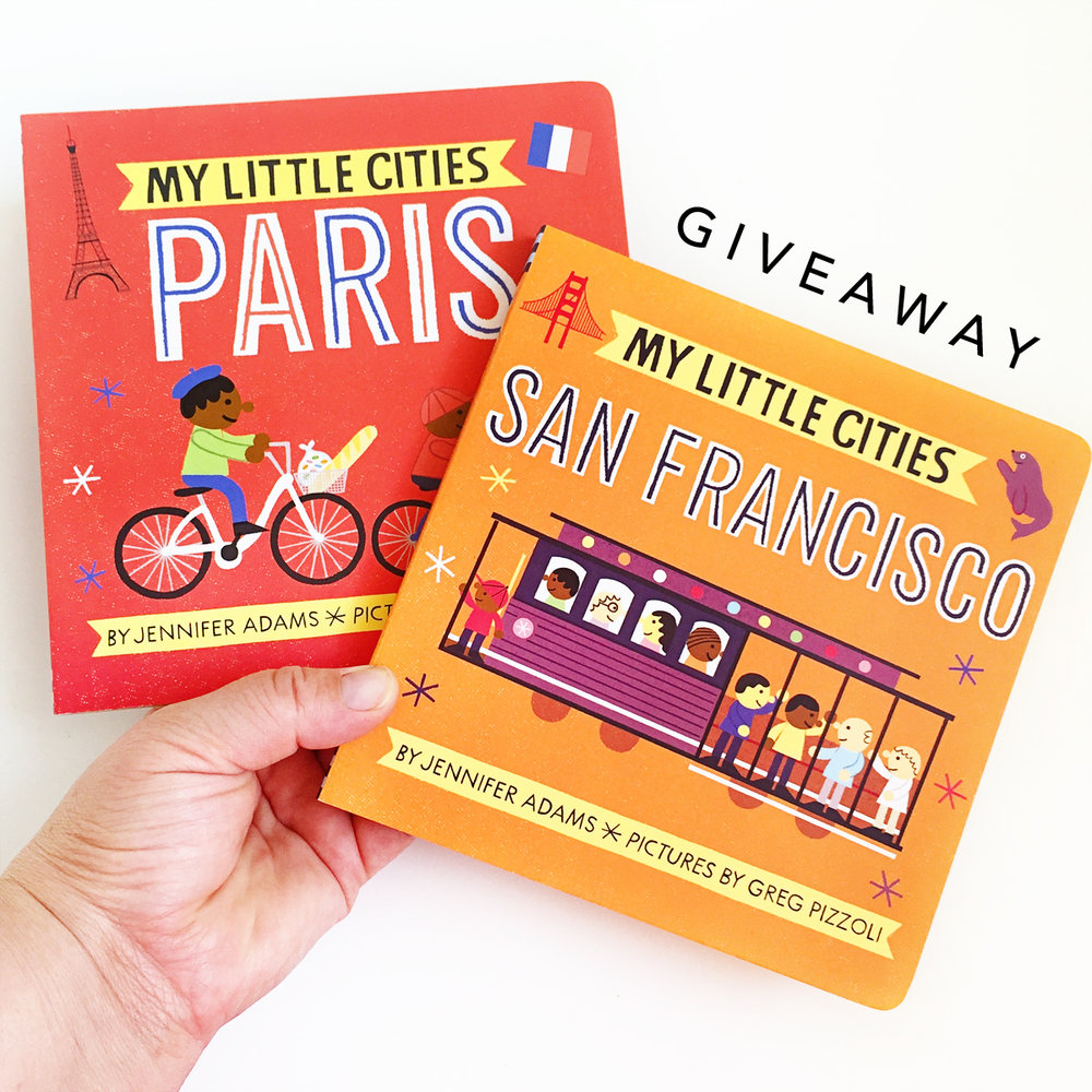 My Little Cities Paris and San Francisco | Little Lit Book Series