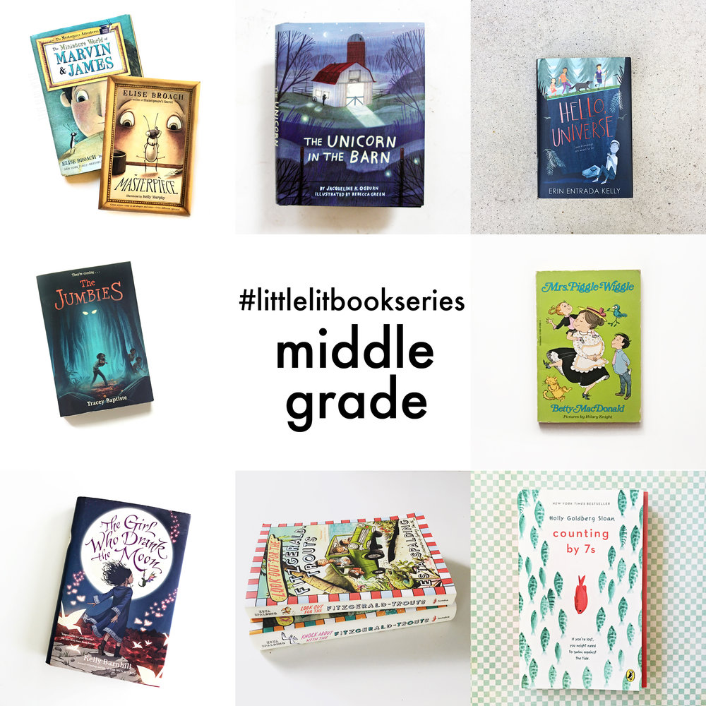 Little Lit Book Series: Middle Grade Edition