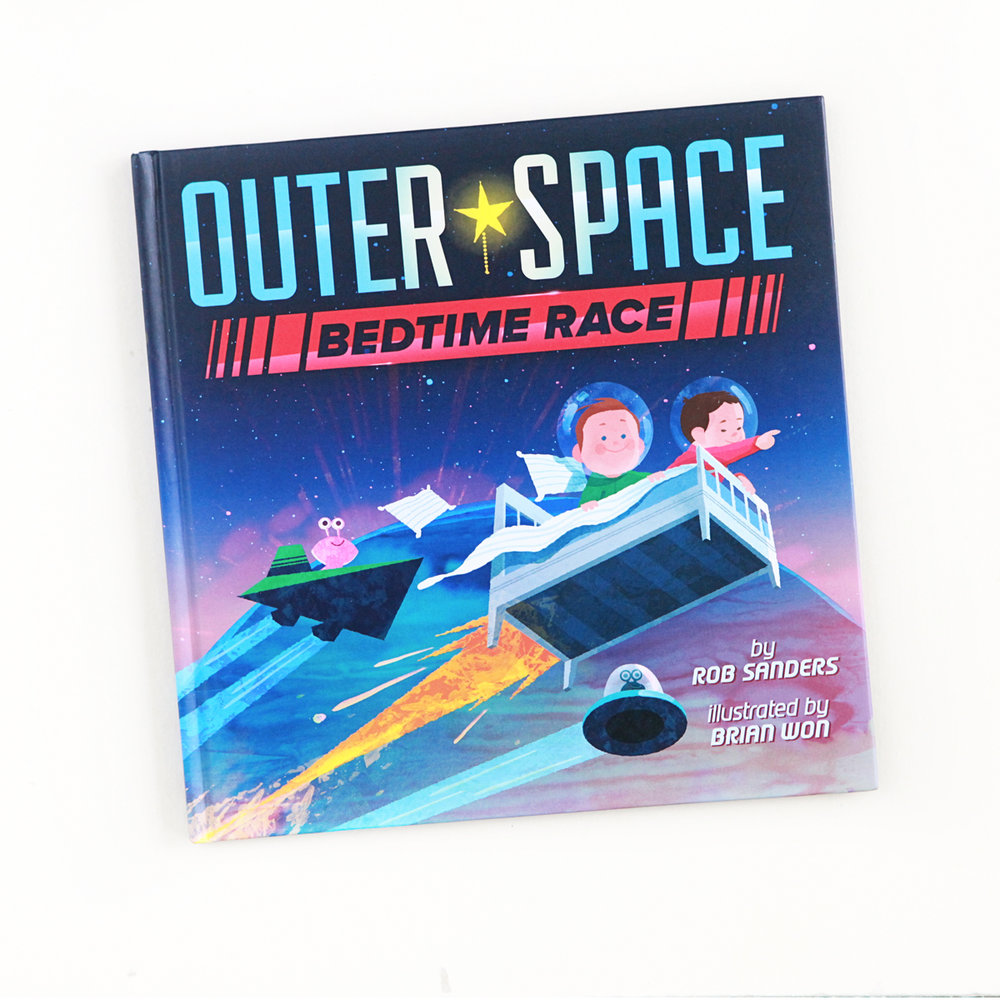 Outer Space Bedtime Race | Little Lit Book Series