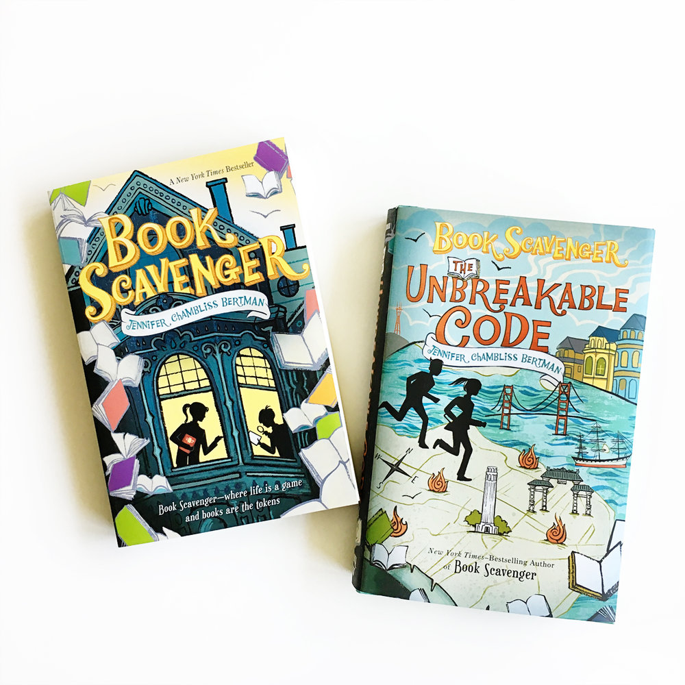 Book Scavenger | Little Lit Book Series