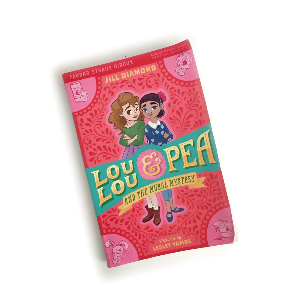 Lou Lou and Pea and the Mural Mystery | Little Lit Book Series