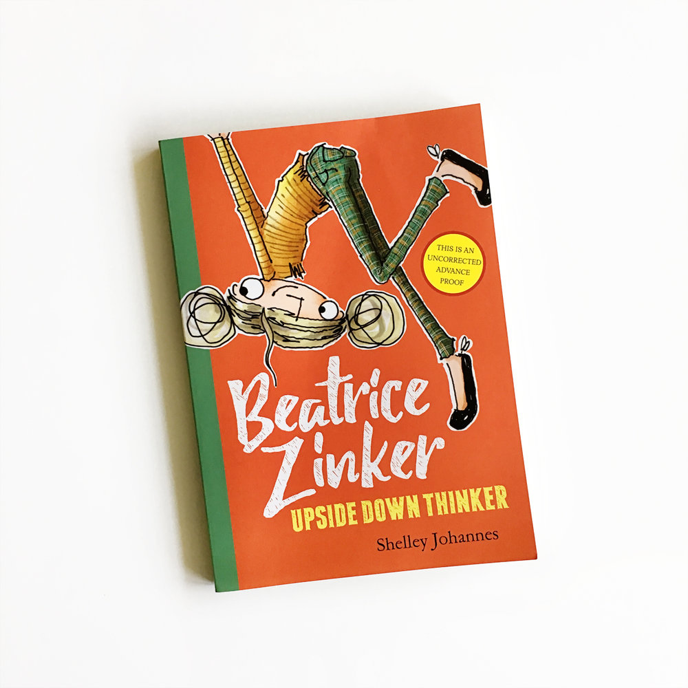 Beatrice Zinker, Upside Down Thinker + Giveaway | Little Lit Book Series