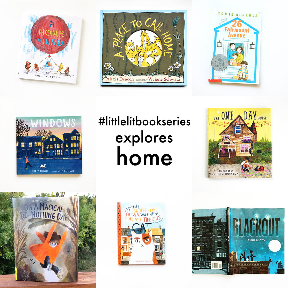 Little Lit Book Series Explores Home