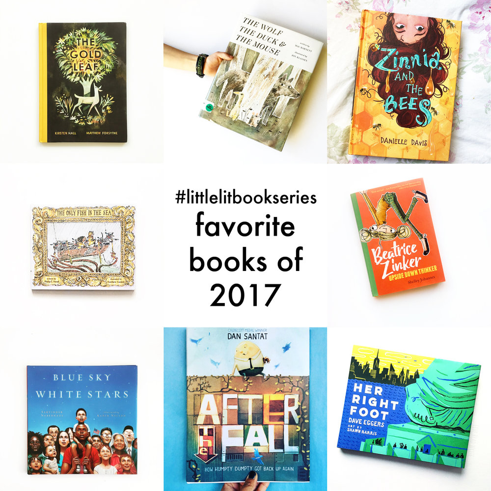 Little Lit Book Series: Favorite Books of 2017