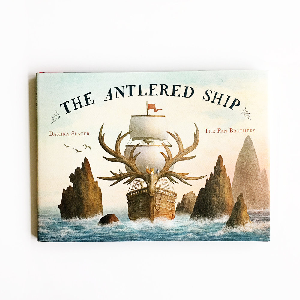 The Antlered Ship | Little Lit Book Series