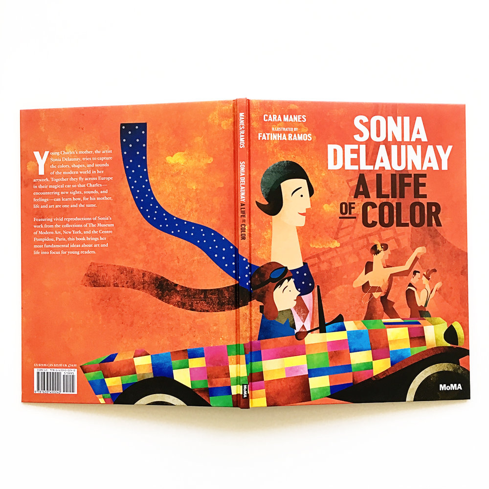 Sonia Delaunay: A Life of Color | Little Lit Book Series