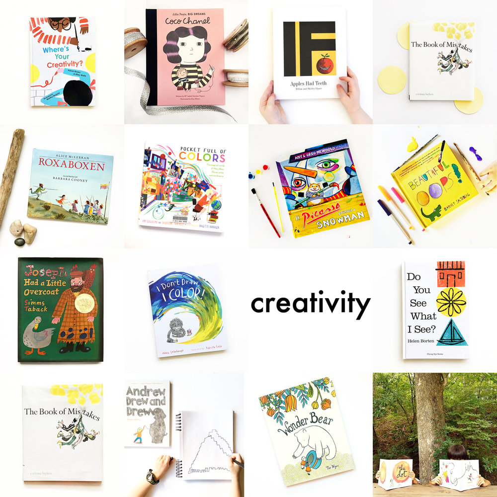 Little Lit Book Series: Creativity