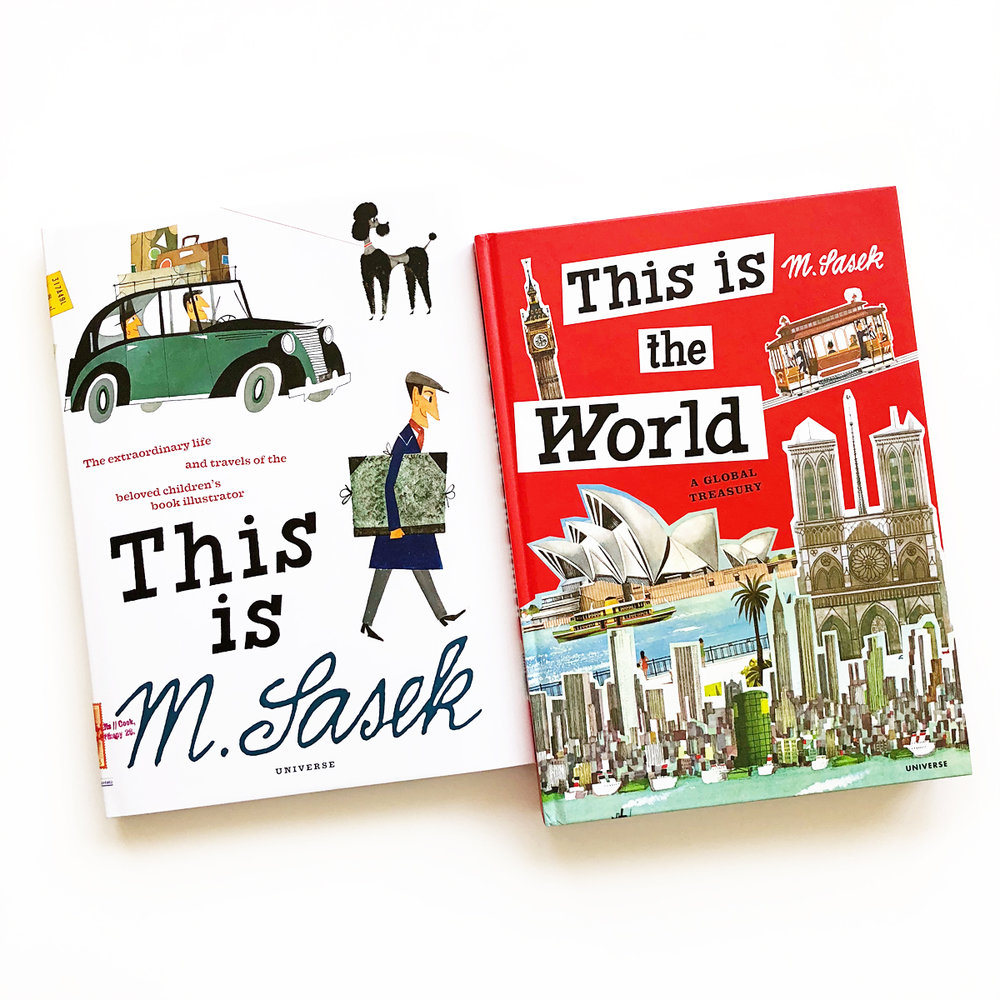 This Is M. Sasek and This Is the World | Little Lit Book Series