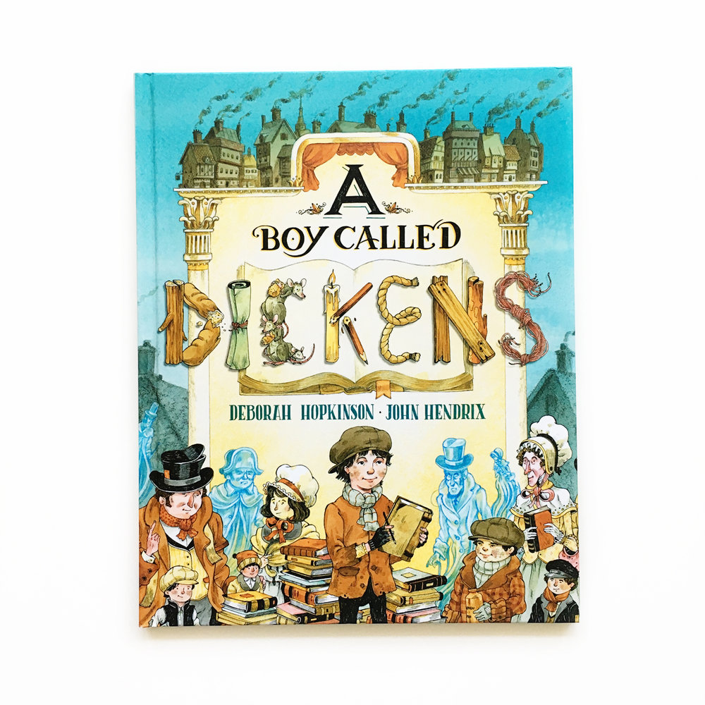 A Boy Called Dickens | Little Lit Book Series