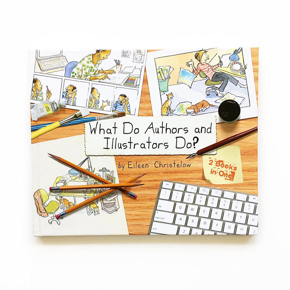 What Do Authors and Illustrators Do? | Little Lit Book Series