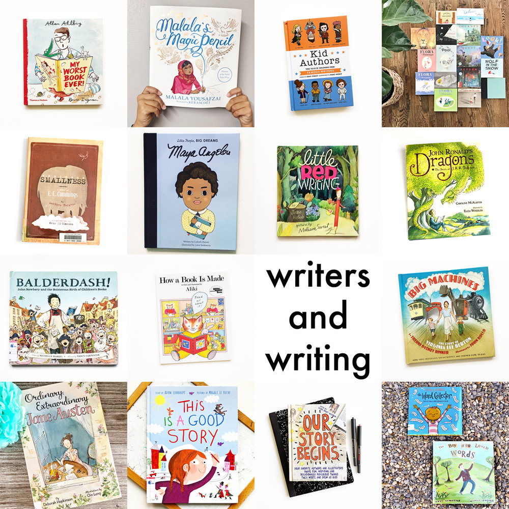Little Lit Book Series: Writers and Writing