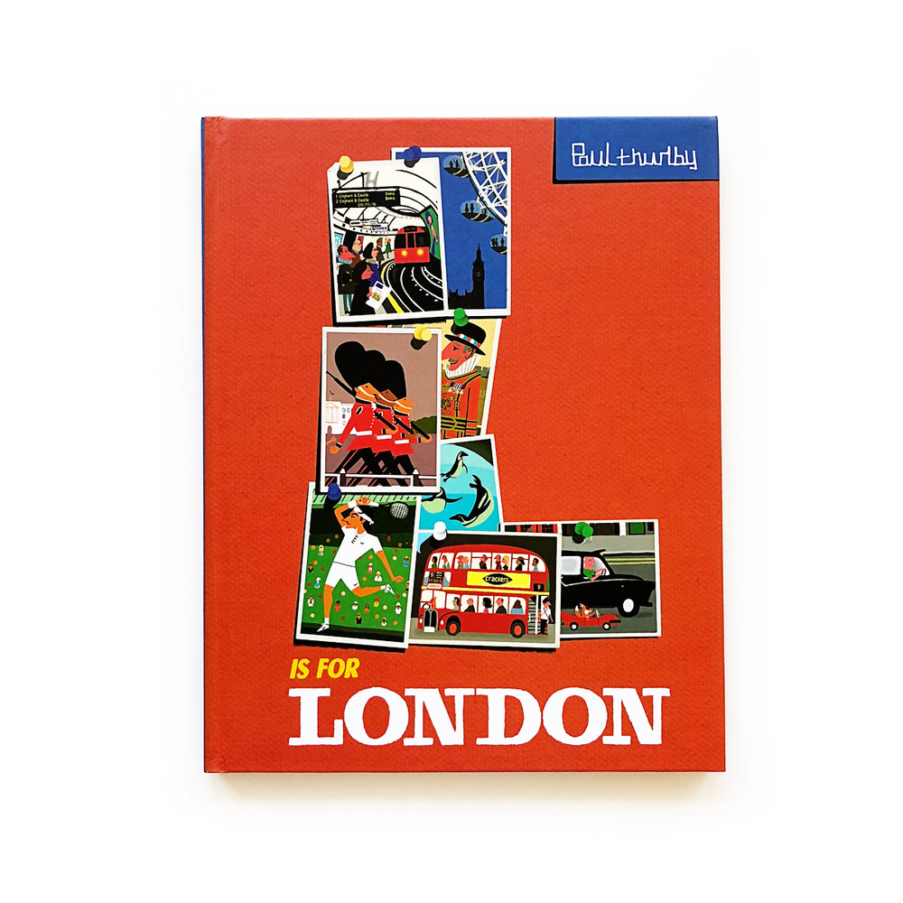 L Is for London | Little Lit Book Series