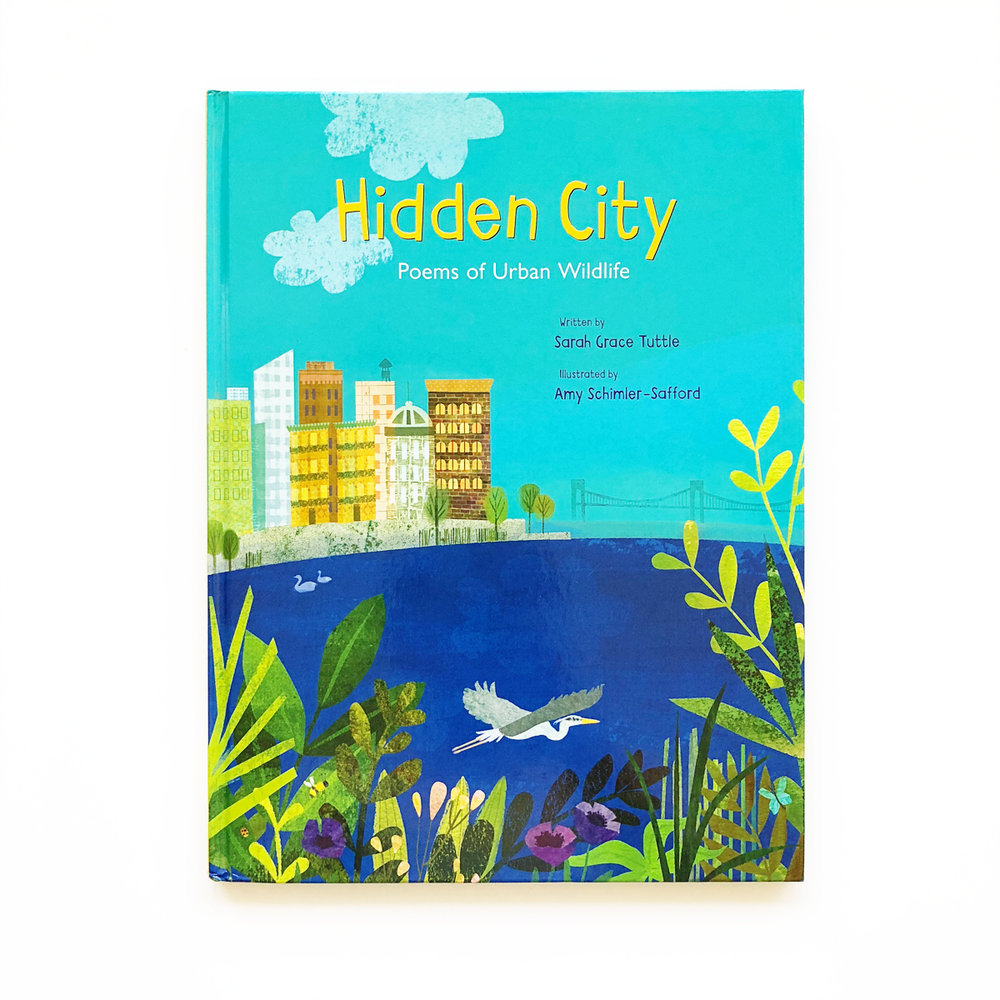 Hidden City: Poems of Urban Wildlife | Little Lit Book Series