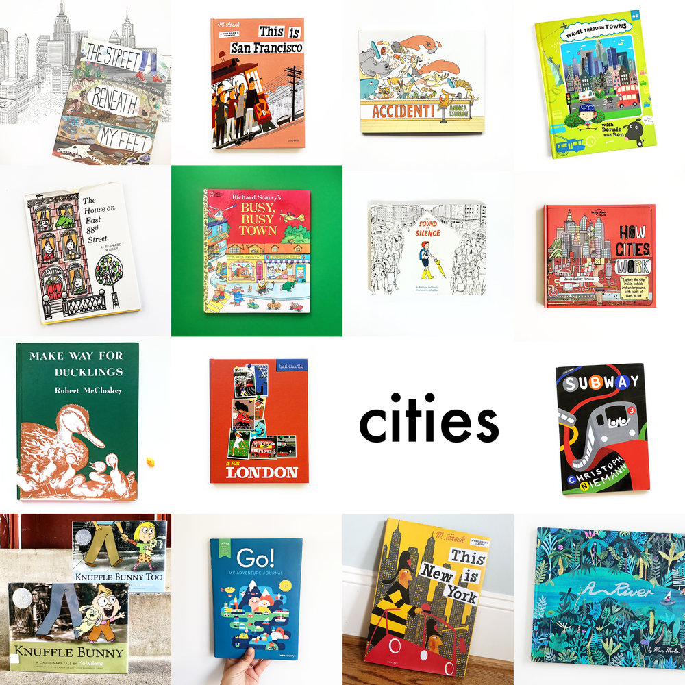Little Lit Book Series: Cities