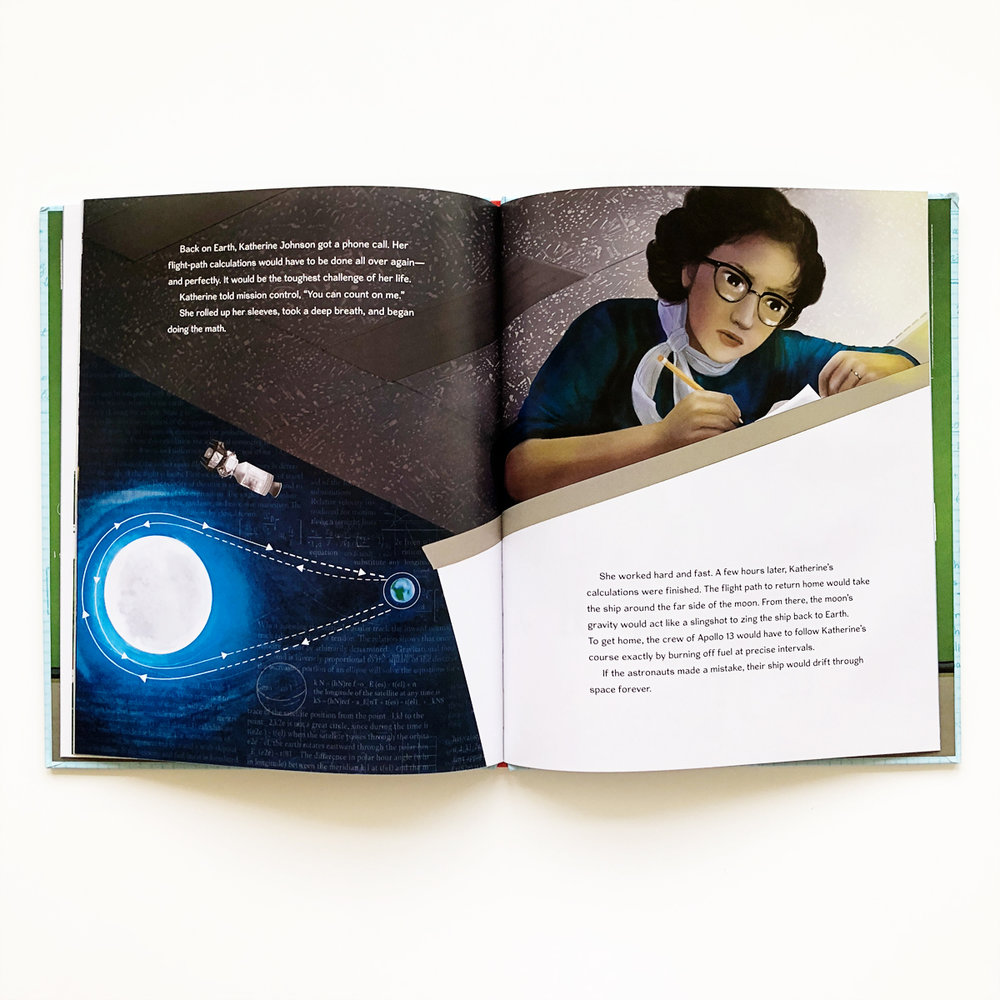 Counting on Katherine: How Katherine Johnson Saved Apollo 13 | Little Lit Book Series