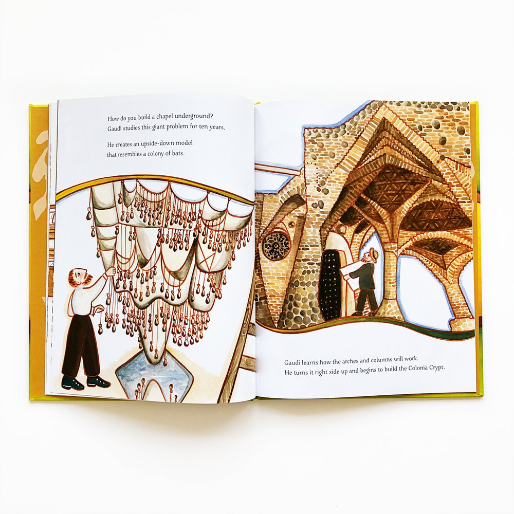 Building on Nature: The Life of Antoni Gaudí | Little Lit Book Series