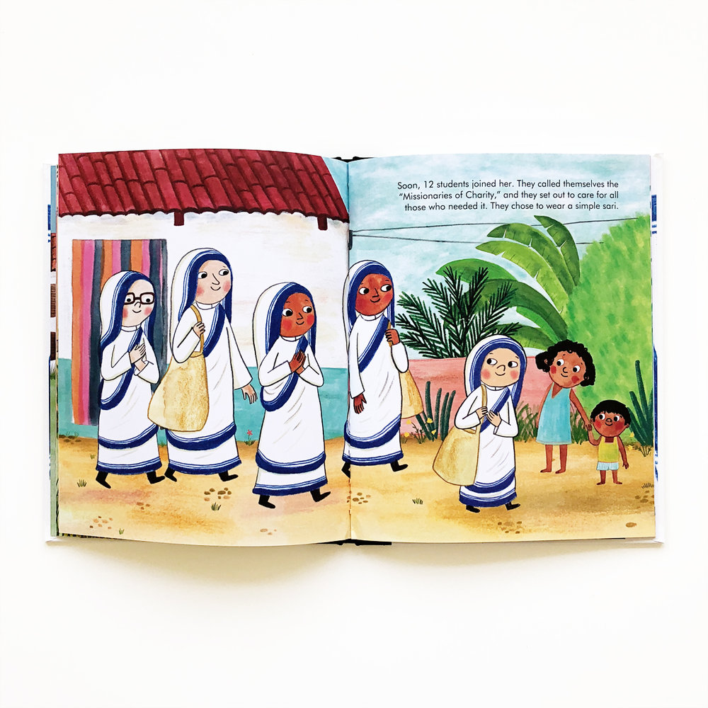 Little People, Big Dreams: Mother Theresa | Little Lit Book Series