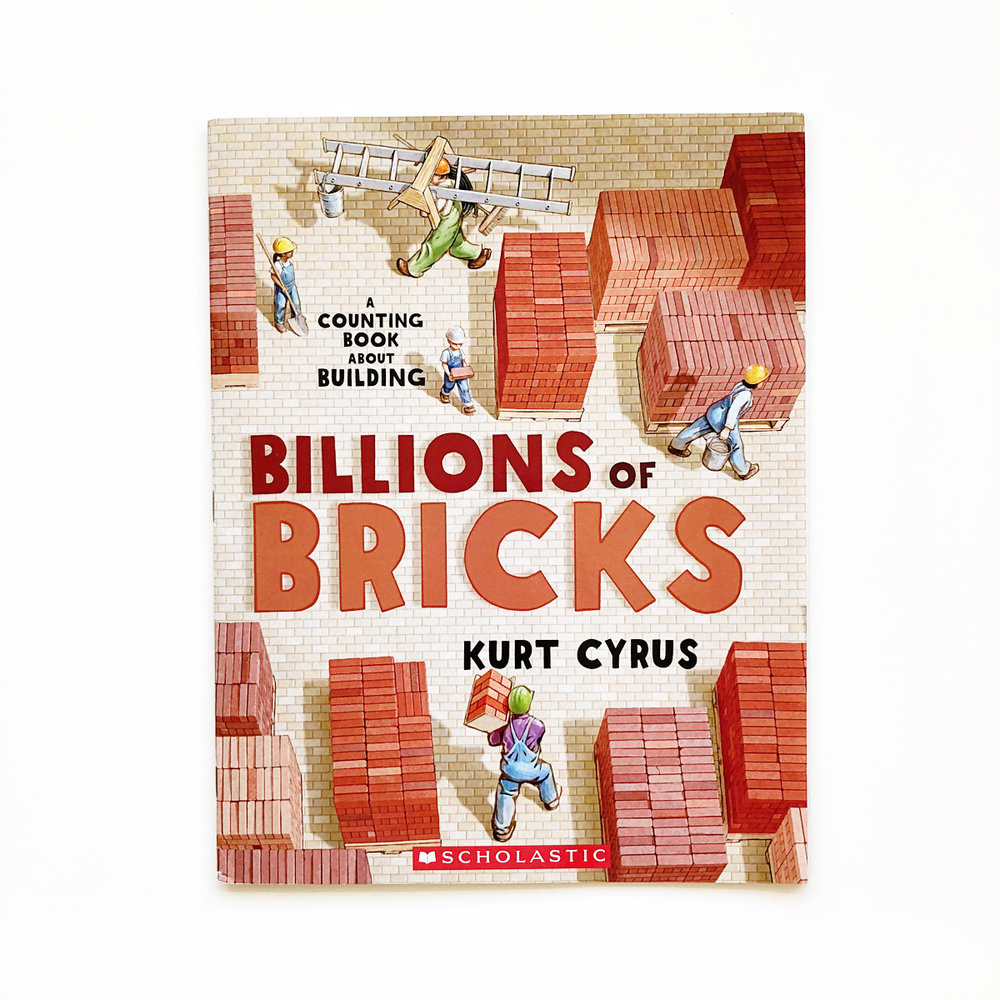 Billions of Bricks: A Counting Book | Little Lit Book Series