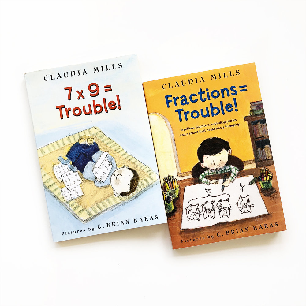 7 x 9 = Trouble and Fractions = Trouble | Little Lit Book Series