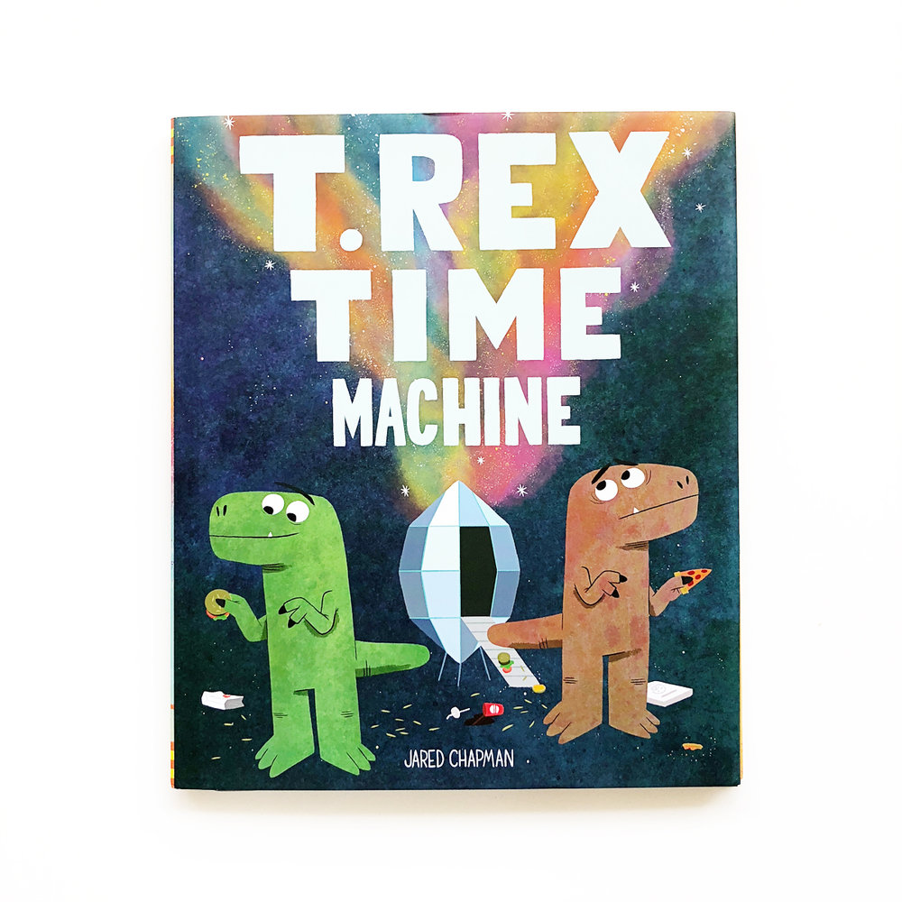 T. Rex Time Machine | Little Lit Book Series