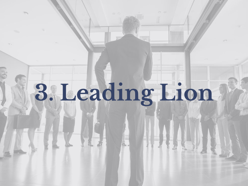 Lesson 3: Leading Lion