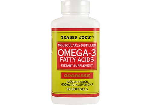 Omega 3   They are great for the brain! Prevents against depression, and its a good boost for brain functioning.