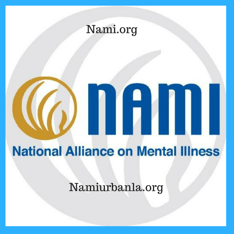 NAMI, the National Alliance on Mental Illness, is the nation's largest grassroots mental health organization dedicated to building better lives for the millions of Americans affected by mental illness. I have the privilege of working for the Nami Urban LA location in Leimert Park as the School Based Programs Outreach Coordinator, working with high school and college youth on mental health awareness. NAMI has family to family classes for those whose loved ones have been affected by mental illness and even peer to peer classes for those recovering with mental health challenges. NAMi helps shape public policy, hosts NAMI walks, and has a national NAMI hotline. NAMI Urban LA is South LA's nearest chapter in Leimert Park. See the NAMI website at:  Nami.org  to find your local chapter. Follow the National Organization on Instagram   @namicommunicate   and follow NAMI Urban LA   @namiurbanla   to stay connected.