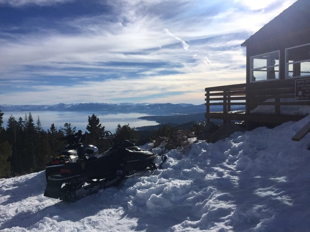 Over 100 years old, the Martis Peak Fire lookout provides a spectacular view of Lake Tahoe, Northstar, Martis Valley as well as some of Truckee, lakes and reservoirs.