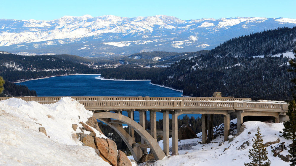 DONNER SUMMIT IS ONE OF THE MOST IMPORTANT SQUARE MILES IN CALIFORNIA.