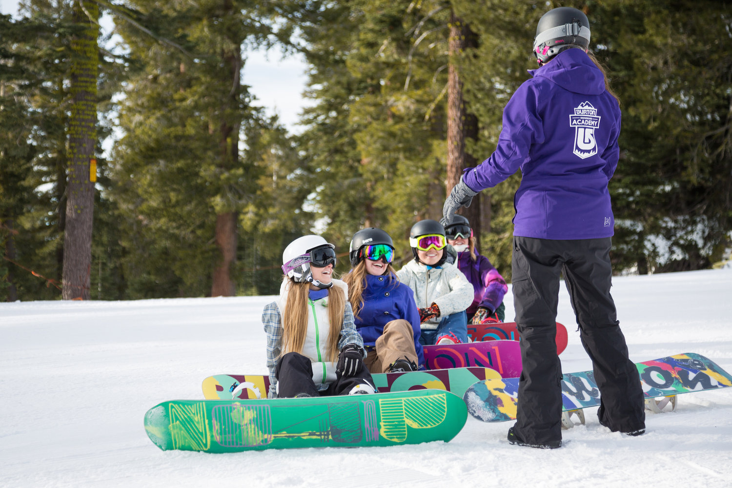 How to become a ski or snowboard instructor — Tahoe Ascent