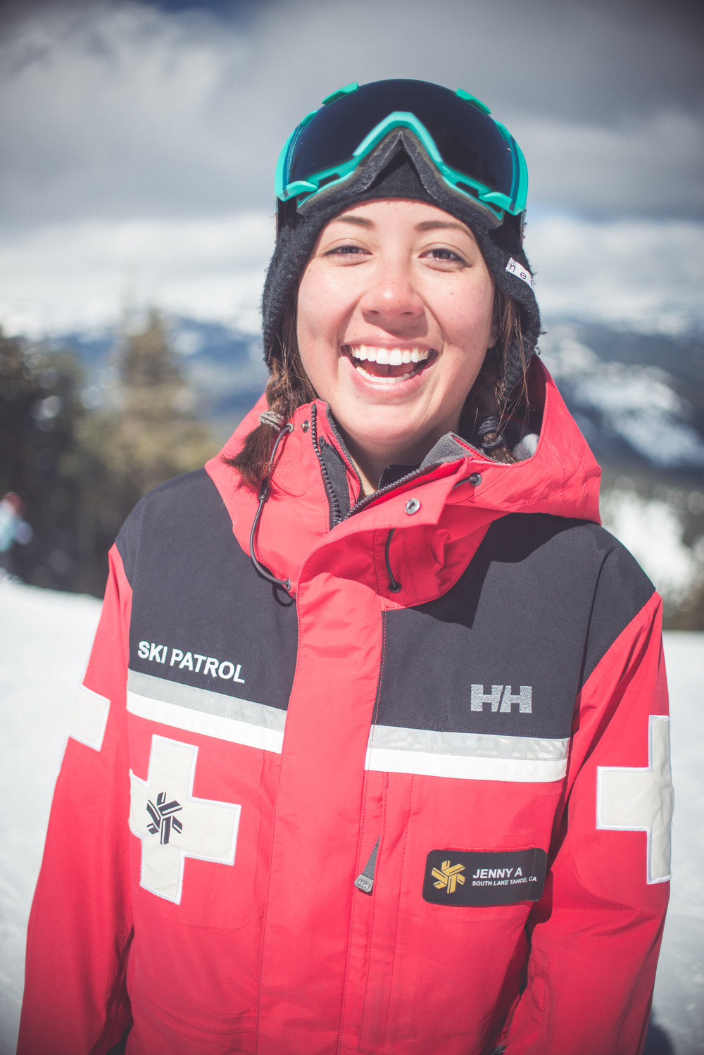 What would be your advice to other women who aspire to becoming ski patrollers? - My advice would be to just go for it and not let anything stop you. You are fully capable of this job and nothing should get in the way of your goals in life. You just have to work hard, show your worth and be confident.