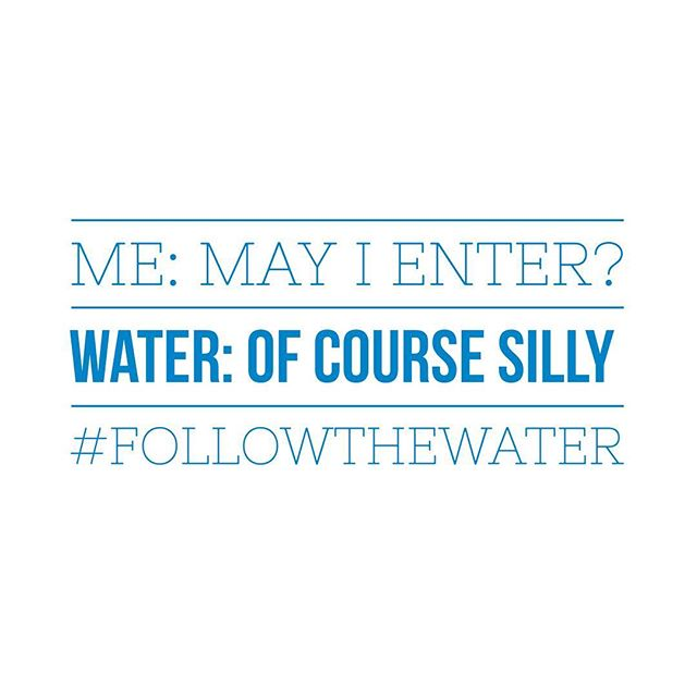 Before I enter water I try to remember to ask permission. This is one of water's responses before an ocean swim. #followthewater #waterlessons #water