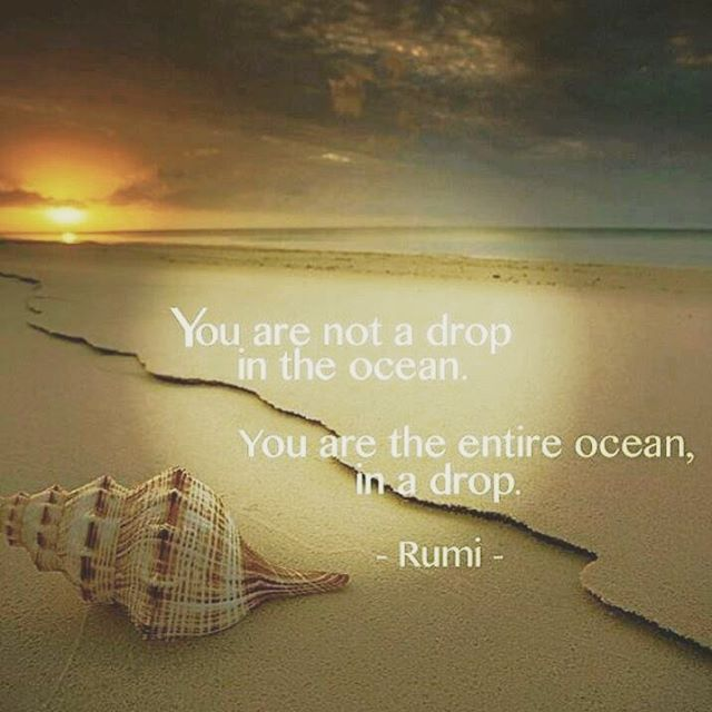 Rumi talking about water is like a sacred prayer that my heart grasps. #followthewater #rumi